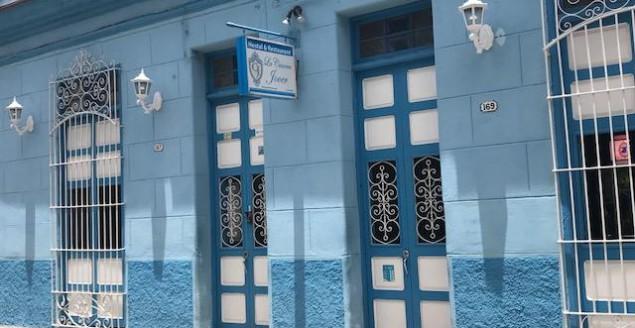 Santa Clara Cuba hotels and La Casona Jover